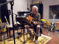 Keith in the studio, 2011