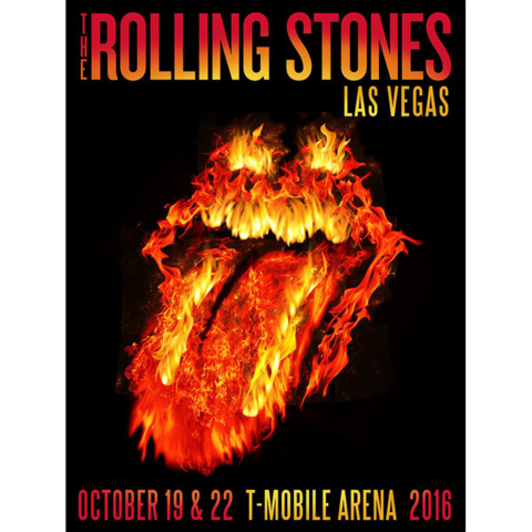 The Rolling Stones play Las Vegas October 22, 2016