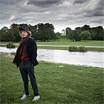 Mick enjoys a stroll in the Englisher Garten, Munich