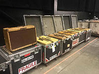Keith got some of his FENDER Twin Amps road ready