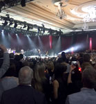 Private gig for Freightliner customers in Vegas, Oct., 4, 2016