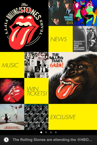 The Rolling Stones iPhone APP