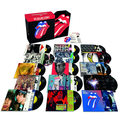 Rolling Stones Studio Albums Vinyl Collection 1971 - 2016