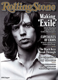 mick and keith on this weeks rolling stone magazine