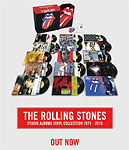 Rolling Stones vinyl collection box