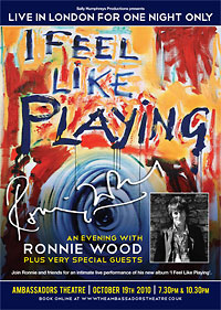 An Evening With Ronnie Wood – 'I Feel Like Playing'