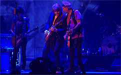The Rolling Stones on stage at Anaheim, CA, May 15 2013 - 50 Years and counting tour