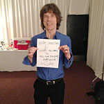 Greetings - Mick: Merry Christmas & Happy Holidays to all our friends everywhere.