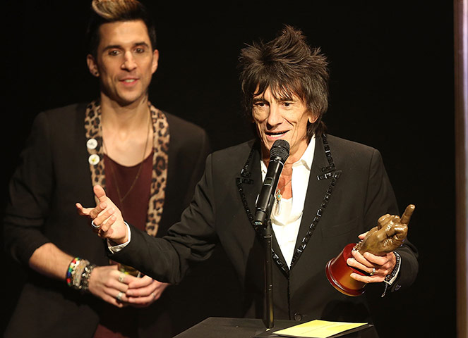 The Rolling Stones won two prices at the NME awards