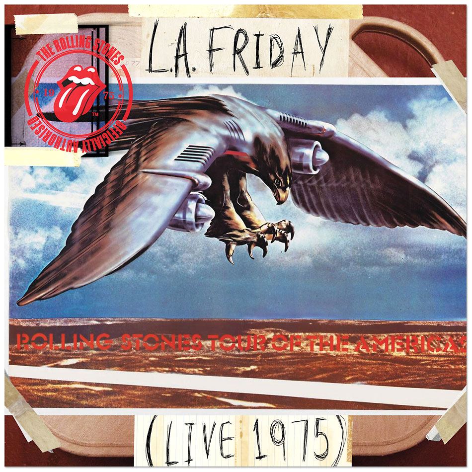 The Rolling Stones Los Angeles 1075