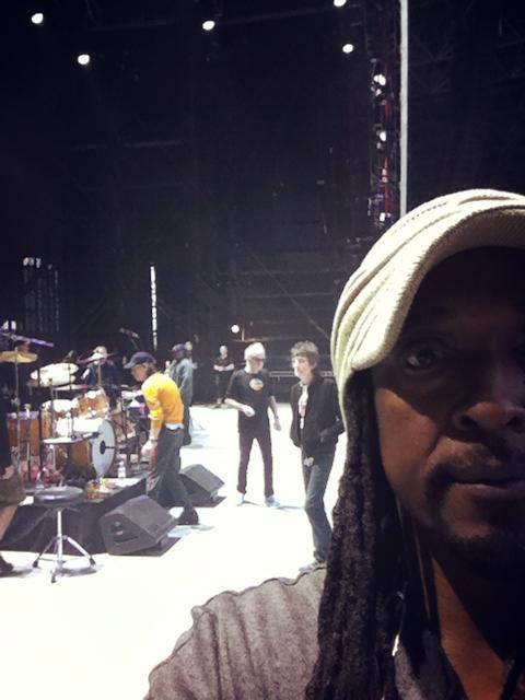 Rehearsals at Du Arena, Abu Dhabi, February 19, 2014
