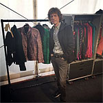 The Rolling Stones in Hamburg 2017 - Mick checking his wardrobe