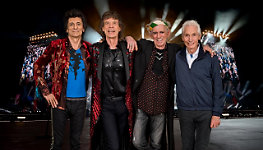 The Rolling Stones - pic by Dave Benett