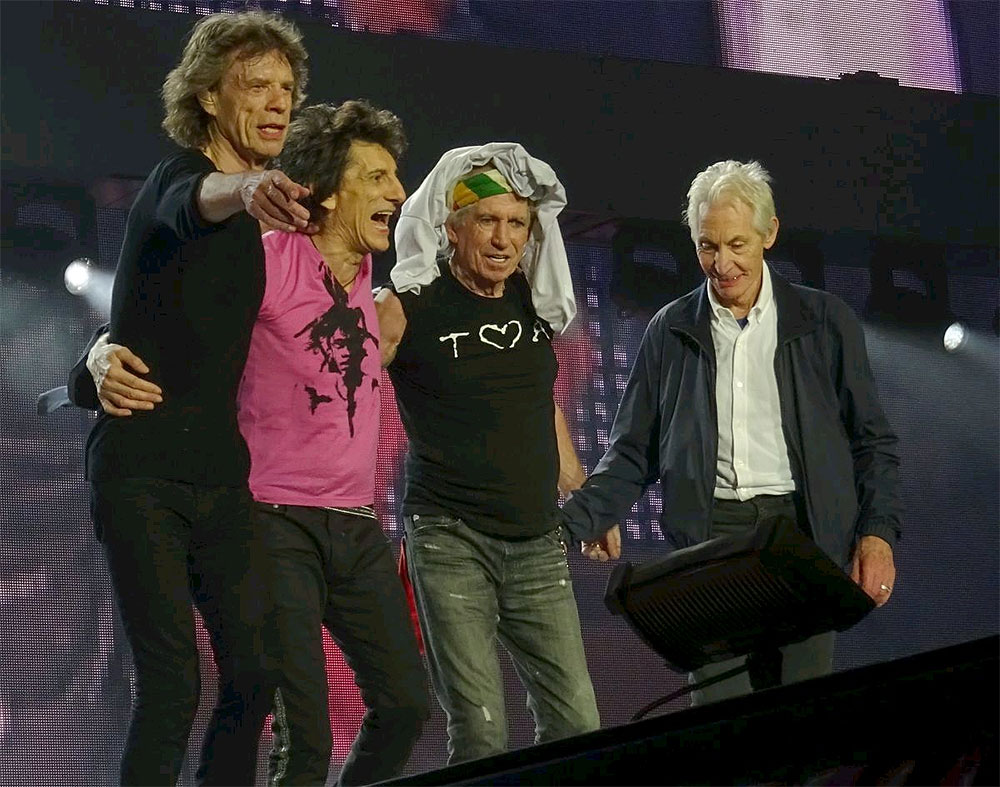 The Rolling Stones - Paris III, 2017