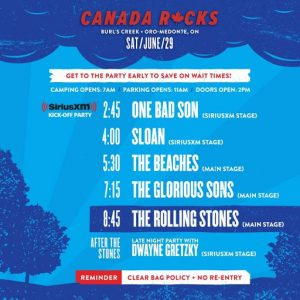 The Rolling Stones - Ontario, Canada, June 29, 2019