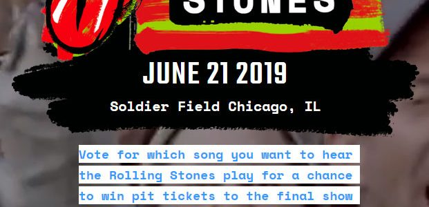 Song Vote for Chicago