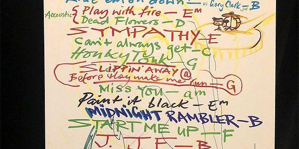 Foxboro setlist by Ronnie