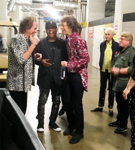 Rolling Stones New Orleans 2019 - Meeting backstage