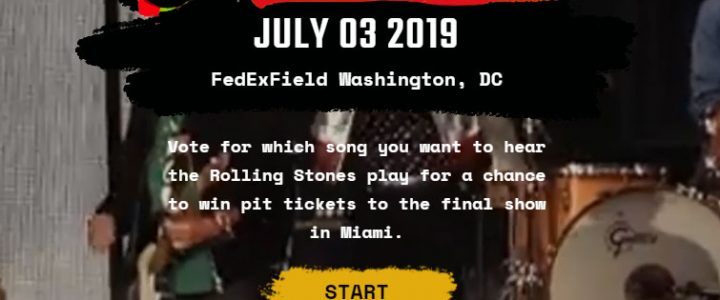 Song vote for DC, July 3