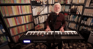Chuck Leavell at Paste Studio, NYC, July 30, 2019