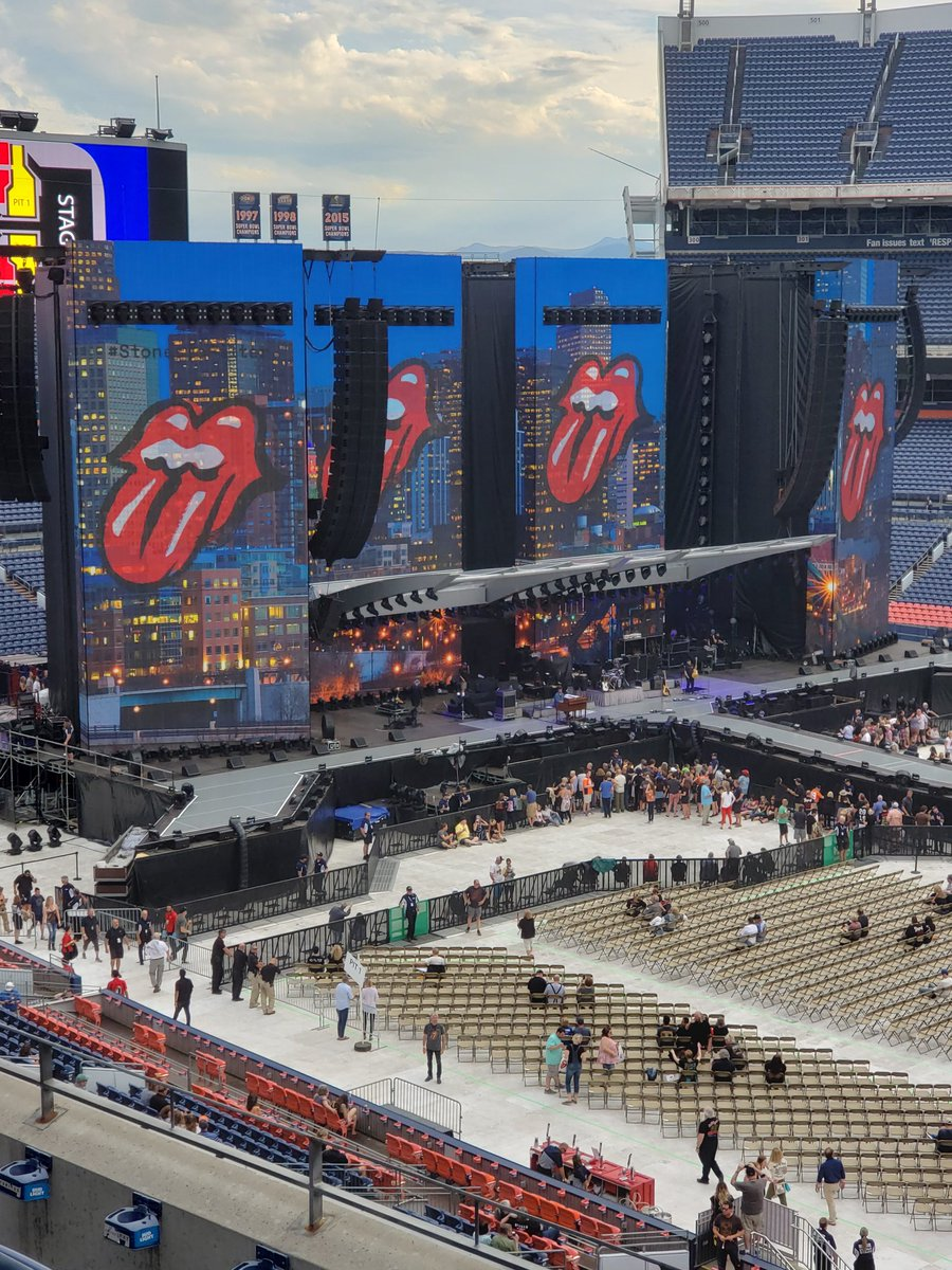 Live in Denver tonight!! – The Rolling Stones News – US