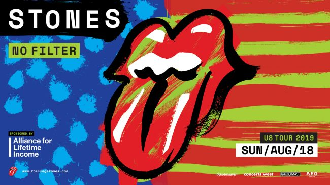 The Rolling Stones, No Filter Tour, Santa Clara, August 18, 2019
