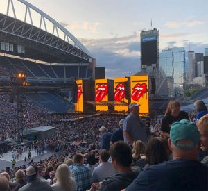 The Rolling Stones, No Filter Tour, Seattle, August 14, 2019
