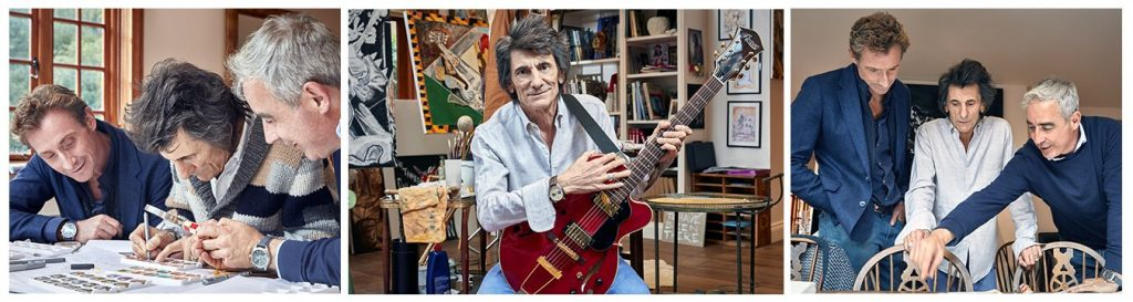Ronnie Wood - Bremont watches collection