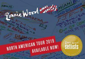 Ronnie Wood - Setlists 2019