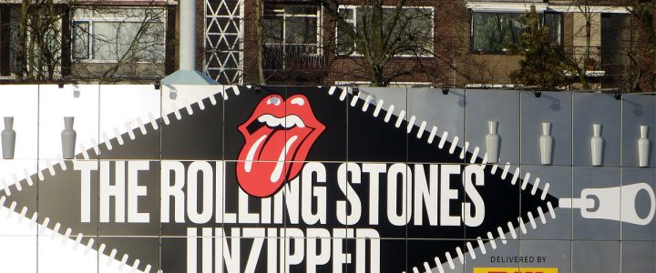The Rolling Stones UNZIPPED exhibition in Groningen (NL)