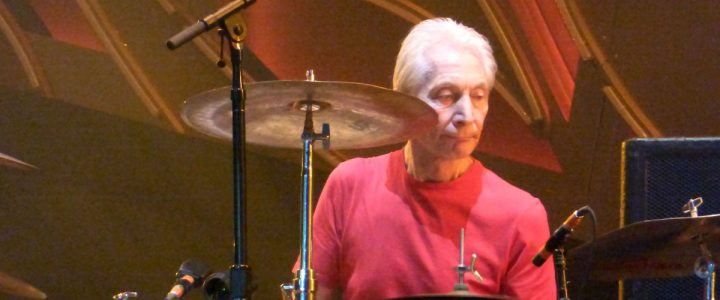 Charlie Watts plays Düsseldorf, June 19, 2014, pic by yours truly
