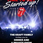 Pre-Tour private gig in Boston, Foxborow, Gillette Stadium