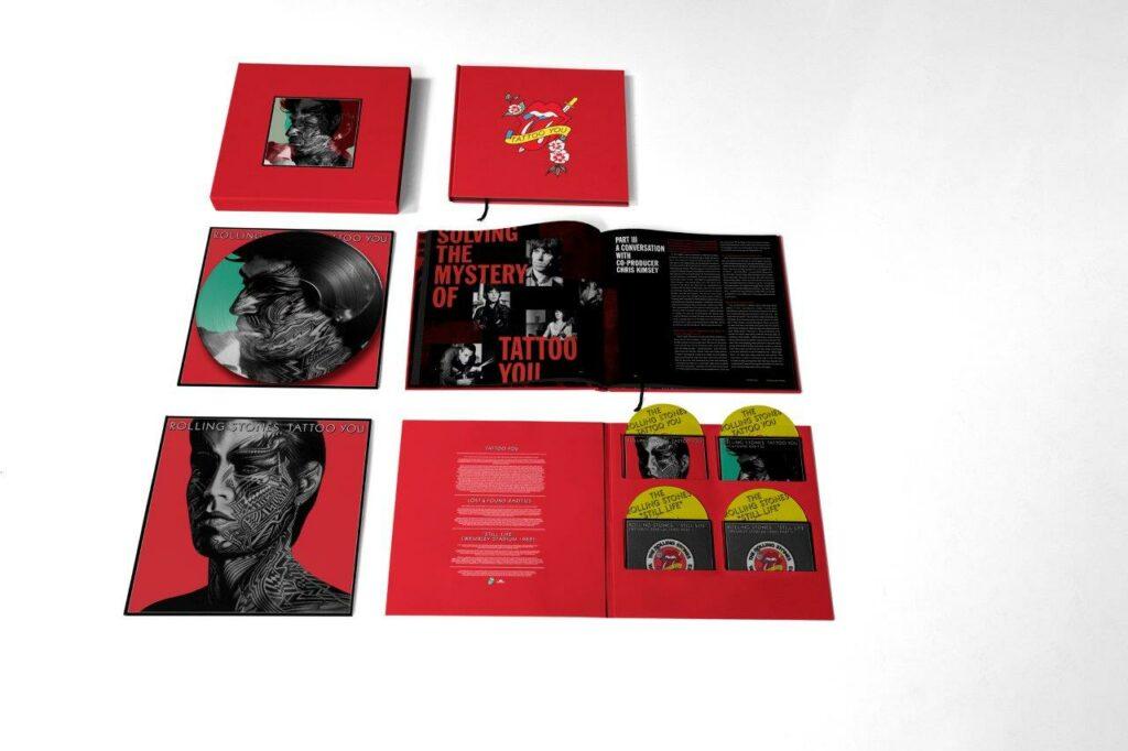 Tattoo You - Super Deluxe edition 40th anniversary