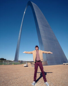 Mick and the Arch