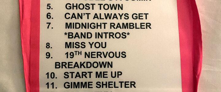 Private gig in Boston - setlist