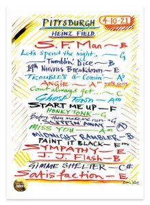 Setlist: The Rolling Stones - No Filter Tour 2021 - Pittsburgh, PA