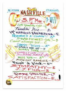 Rolling Stones No Filter Tour 2021 - Nashville setlist