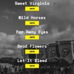 Vote for Nashville your favourite Rolling Stones sond